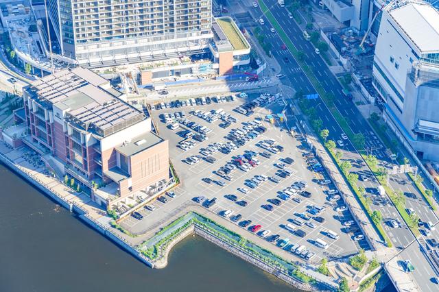 横浜の駐車場